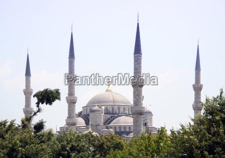 mosque blaue moschee blue mosque turkey