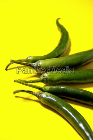 comida pimienta separado suave fruta vegetal