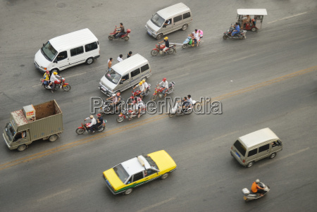 ciudad asia coche carro vehiculo transporte