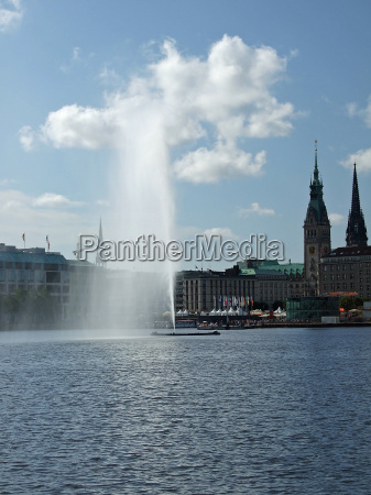 alster fountain