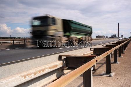 trafico por accidentes de trafico transporte