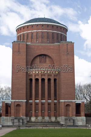 hamburg water tower planetarium observatory cinema