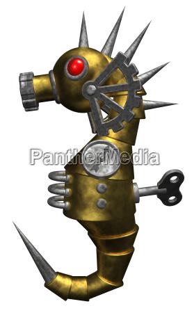 aparelho ferro metal mecanicamente robo maquina