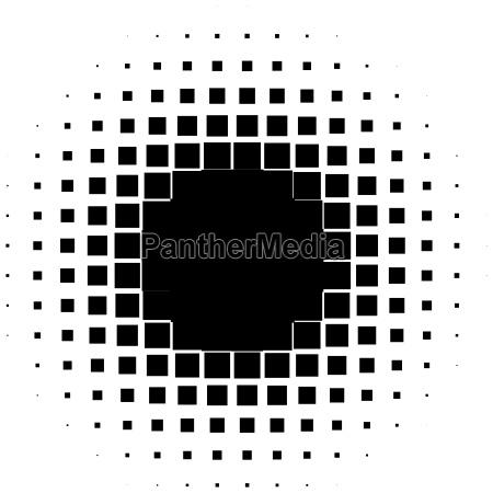 sinal movimento em movimento pontos abstrato