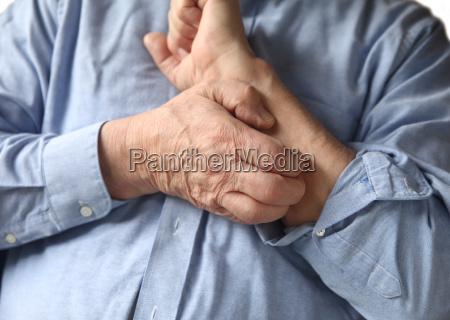 mao maos medico medicina masculino pele