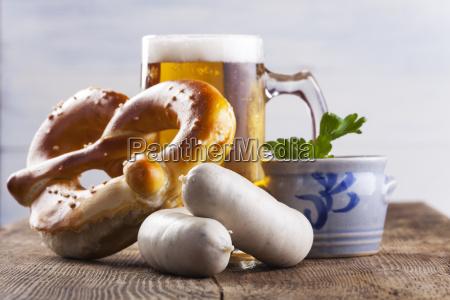 bayerische weisswurst bier