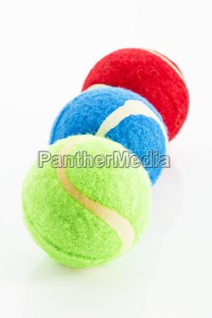 pelotas de tenis para los animales