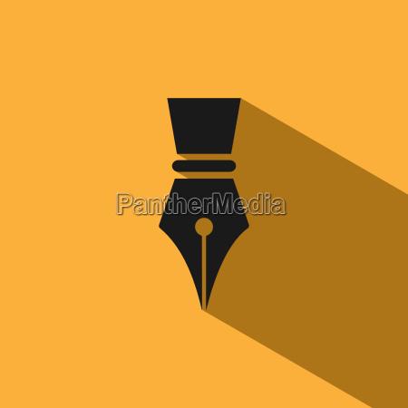 icono de la pluma fontain