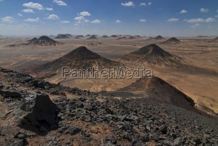 deserto africa horizontalmente ao ar livre