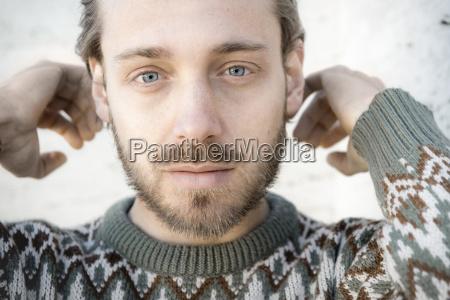 closeup retrato colorido retrato do comprimento
