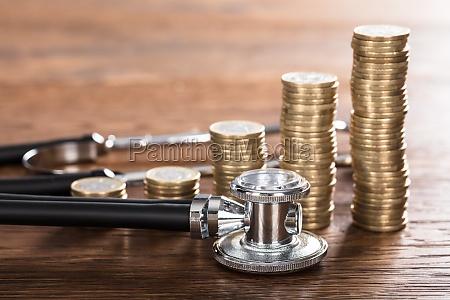 medico banco medicinal moneda monedas negocios
