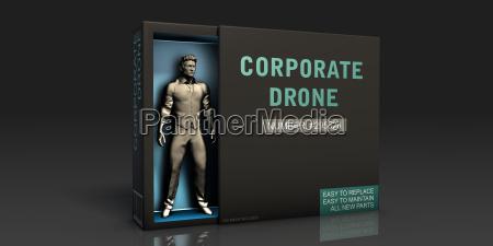 corporate drone