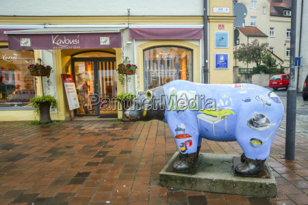 bear sculptures in freising